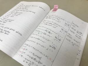 「テスト勉強ノート」