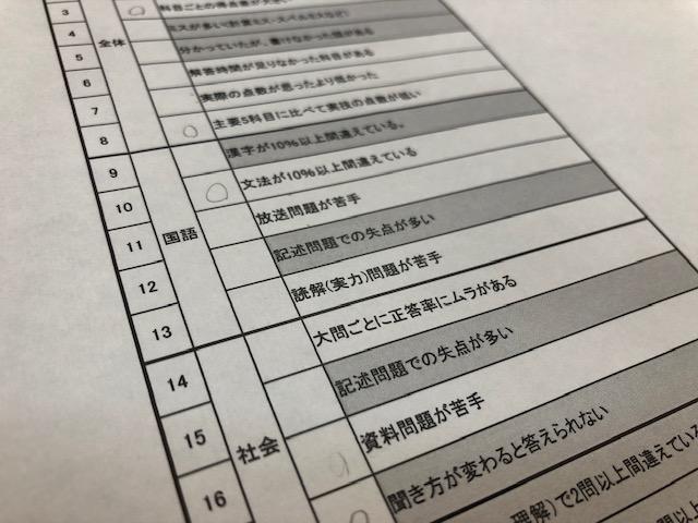 テスト勉強の質を上げていくために。